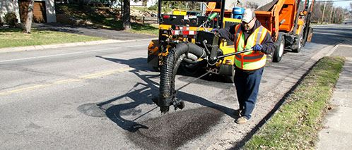 Public Works_Pothole Spray Patching