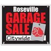Roseville Garage Sale Sign