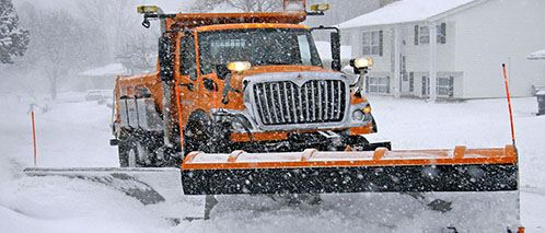 Roseville Snow Plow