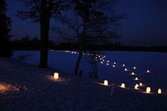 Candlelight trail