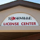 License Center Sign1