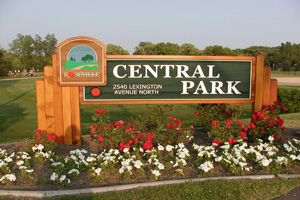 Central Park, the crown jewel of the Roseville Parks System