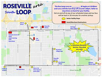 Roseville Pilot Loop-Proposed Map Draft