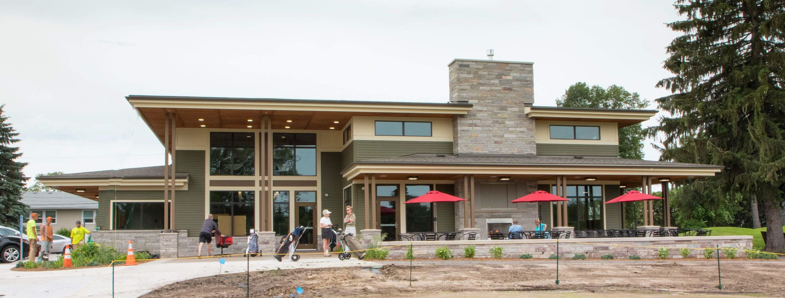 Cedarholm Golf Course Community Building
