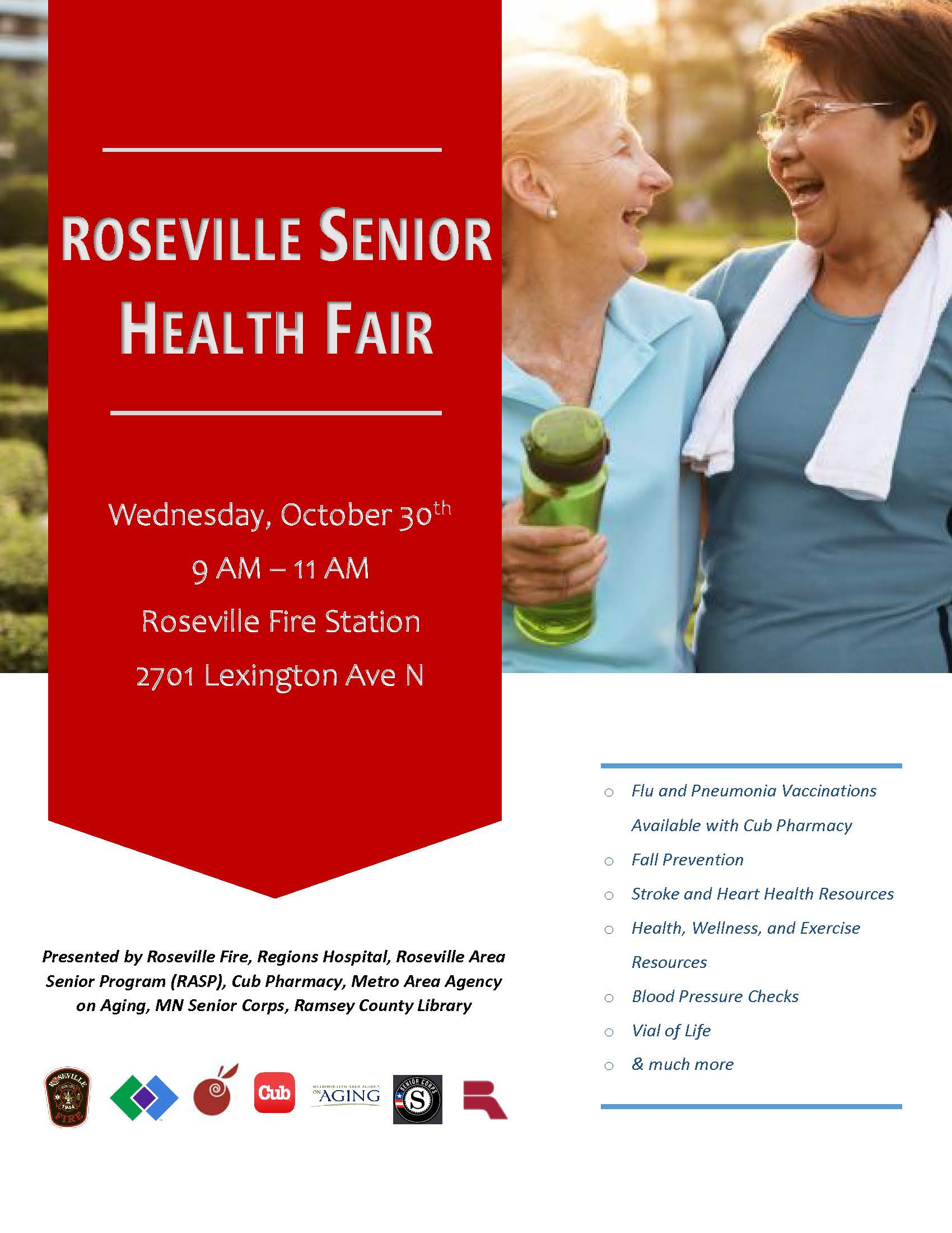 2019 Senior Health Fair