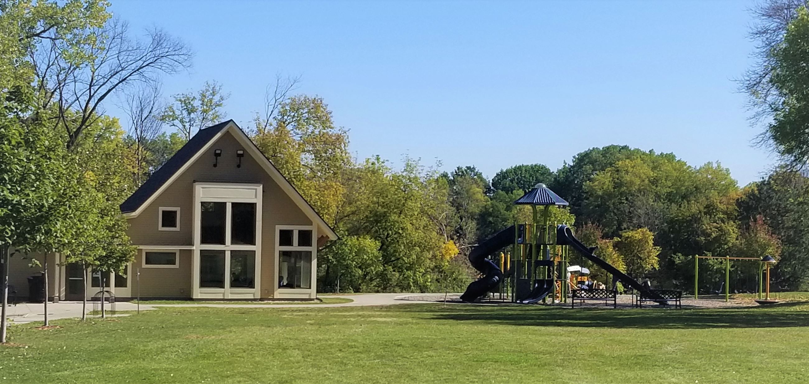 Oasis Park Building and Playground